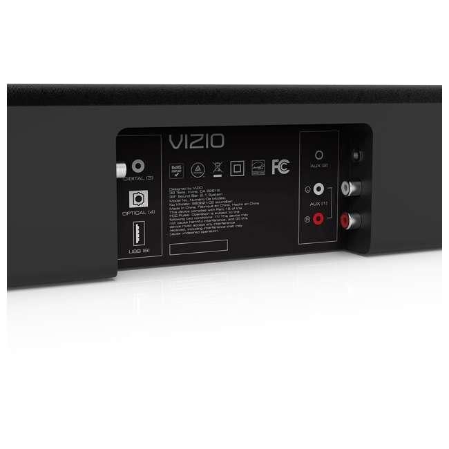 SB3821-C6C-RB-U-B Vizio SB3821-C6C 38 Inch 2.1 Sound Bar System (Certified Refurbished) (Used) 5