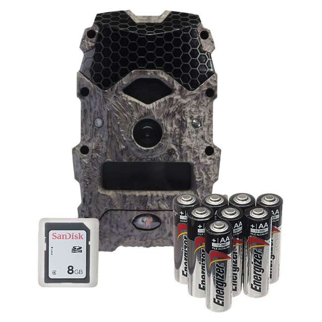 WGICM0572 Wildgame Innovations Mirage 18 MP Trail Camera w/ 8GB SD Card and Batteries