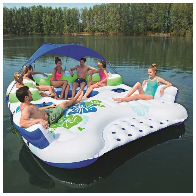 Bestway Coolerz X5 Canopy Island 7 Person Inflatable River