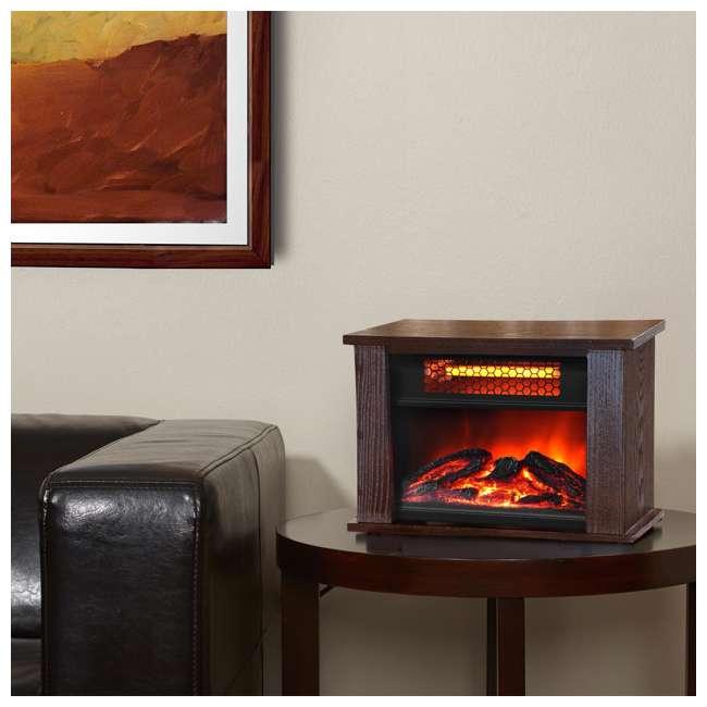 LifePro 750-Watt Infrared Mini Fireplace Heater : LS-PCFP1056