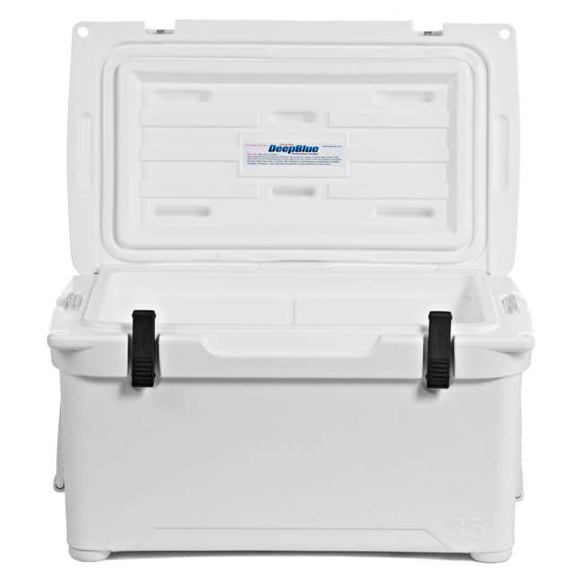 ENG35-OB Engel 35 High-Performance Roto-Molded Cooler, White (Open Box) 3