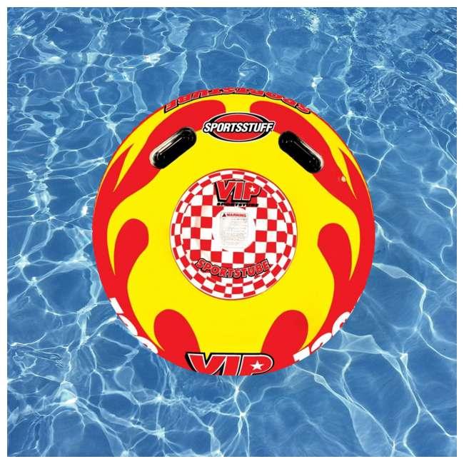 4 x 53-1116 Sportsstuff Sportstube VIP Towable Single Rider Water Tube (4 Pack) 3
