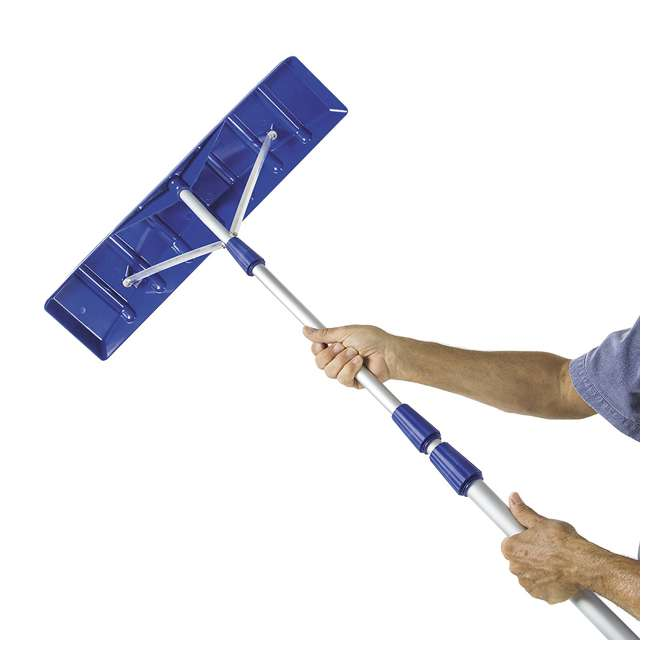 RJ204M Snow Joe Telescoping Snow Shovel Roof Rake with 21-Foot Extension (2-Pack) 5