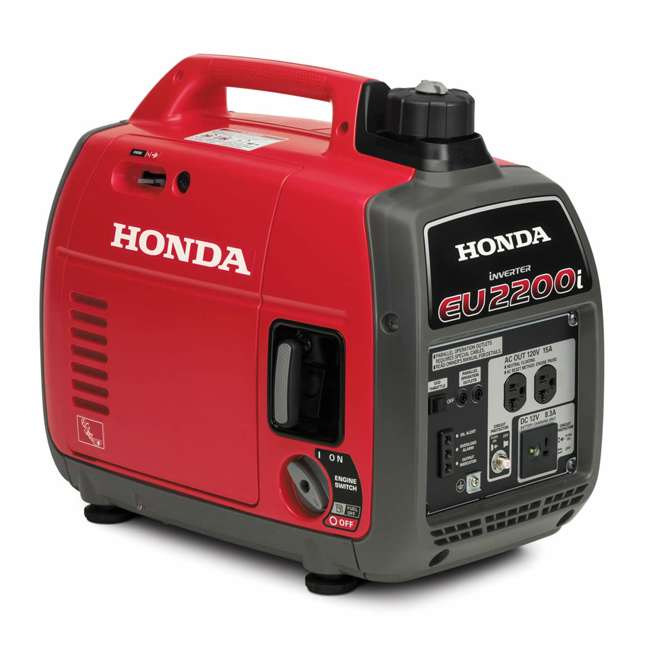 EU2200ITA Honda EU2200ITA 2200 Watt Super Quiet Portable Gas Powered Generator