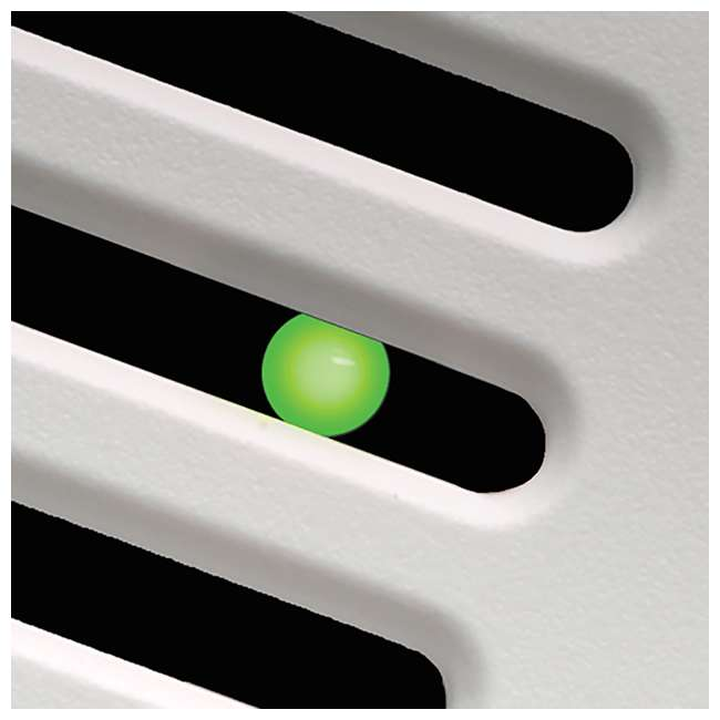 4 x GBR100 Delta Breez 100 CFM Single Speed Bathroom Ceiling Fan with LED Light (4 Pack) 3