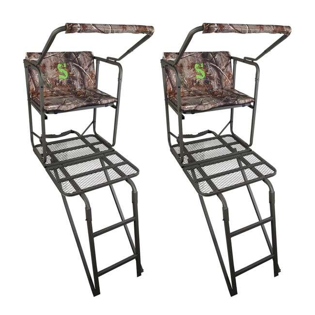 Summit Solo Pro Crush Series 1 Man Wide Bench Ladderstand