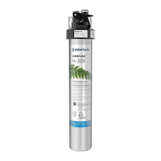 EV927076 Pentair EverPure EV927076 H-300 125 PSI Compact Drinking Water Filtration System