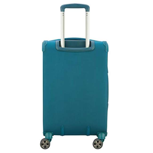 40229198732 DELSEY Paris 3 Sized Reliable Hyperglide Softside Travel Luggage Bag Set, Teal 3