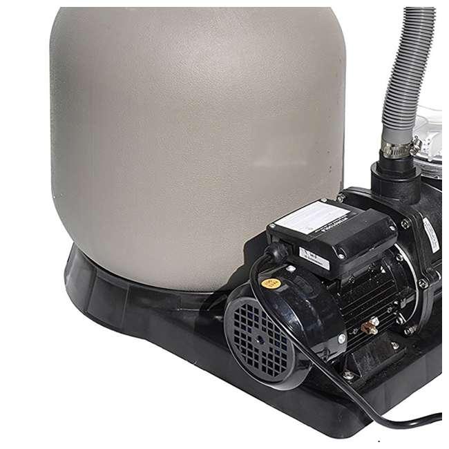 "71405-U-A Swimline 2400 GPH 14"" .5 HP High-Quality Pool Sand Filter Pump Combo (Open Box) 3"