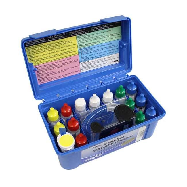 6 x K2006 Taylor K2006 2000 Swimming Pool Chlorine pH Alkaline Water Test Kit (6 Pack) 2