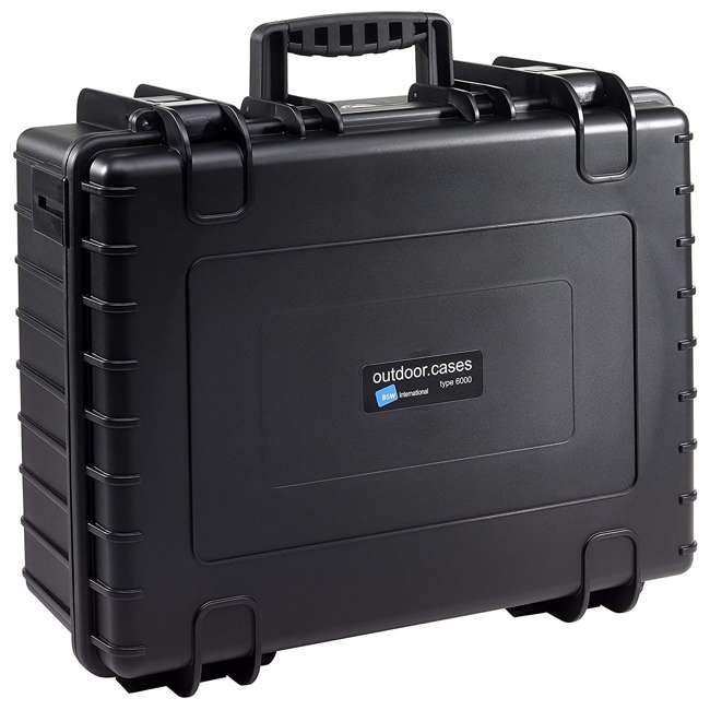 6000/B/RPD B&W International Type 600 Plastic Outdoor Storage Case w/ Customizable Interior