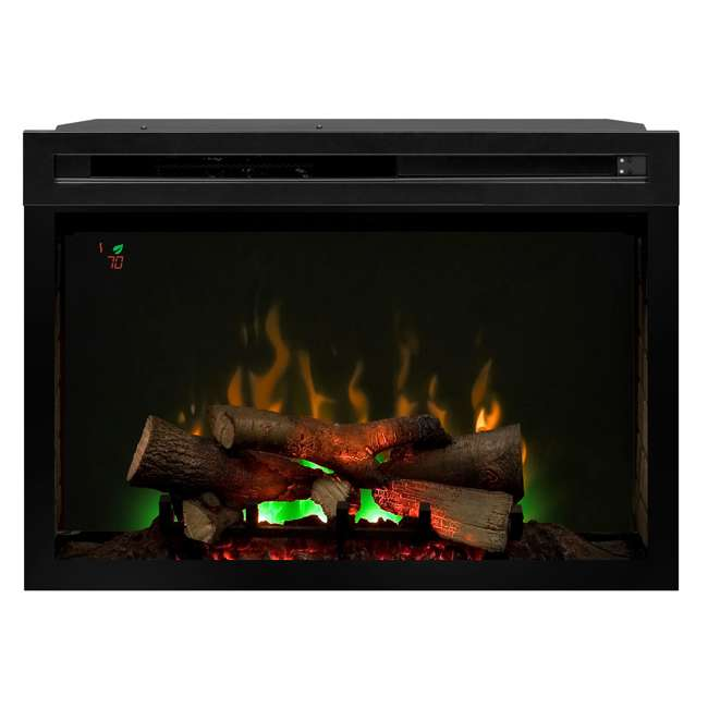 PF3033HL-OB Dimplex Fire XD Multicolor 33-Inch Electric Log Firebox(Open Box) 3