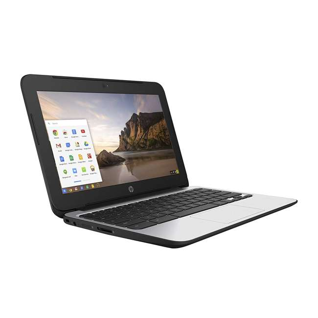"P0B79UT#ABA-C-SKIN HP ChromeBook 11 N2840, 2GB RAM, 16GB SSD 11.6"" Laptop (Certified Refurbished)"