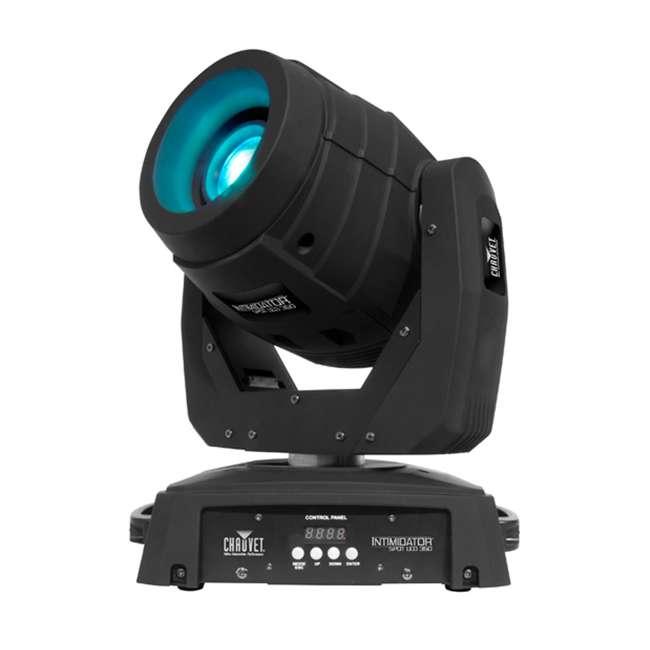 INTIM-SPOTLED350 + 2 x CUBIX Intimidator Spot 350 CHAUVET LED Moving Head DJ Lights (2) + Cubix Lights (2) 1