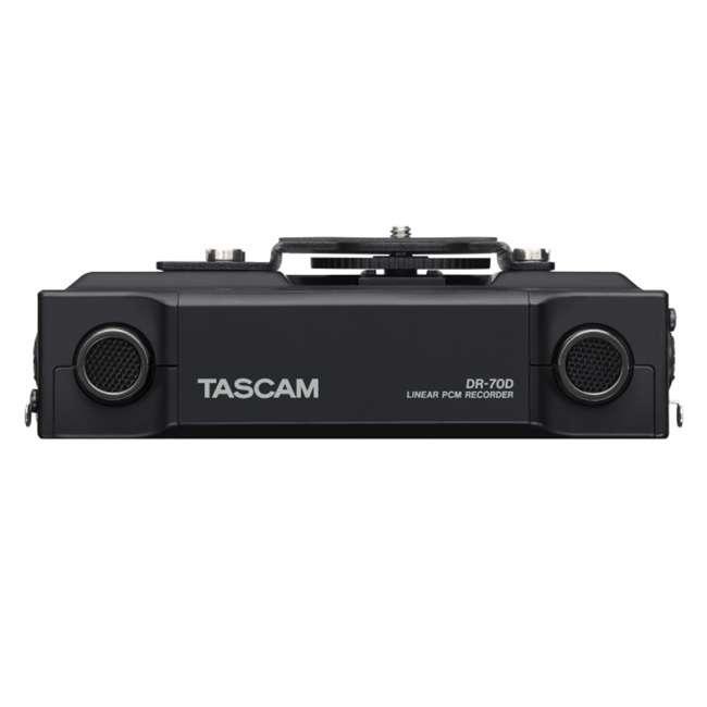 DR-70D + TAS AKDR70C + TH02-B Tascam 4-track PCM Audio Recorder + DSLR Accessory Kit + Studio Headphones 2