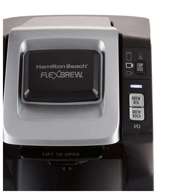 49975 Hamilton Beach 49975 FlexBrew 3 Size K Cup Single Serve Coffee Maker Brewer 2
