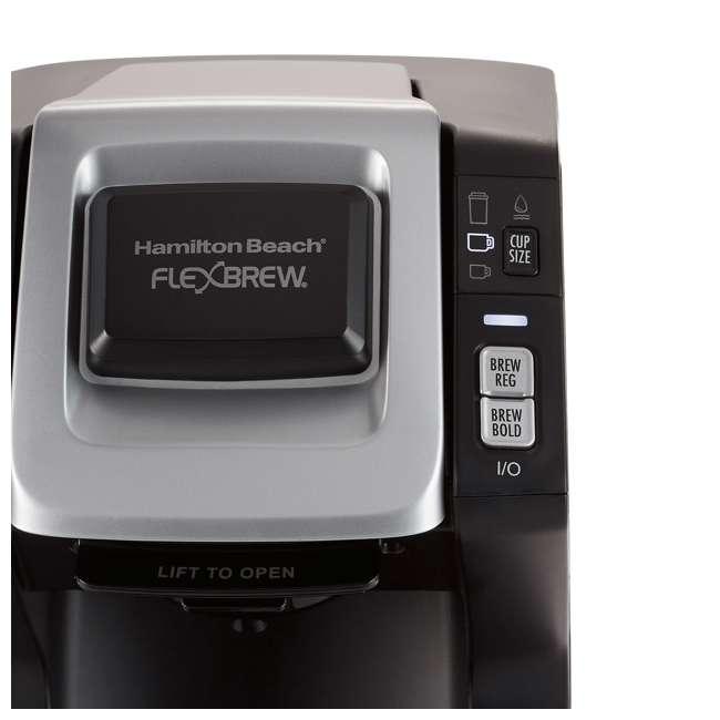49975 Hamilton Beach 49975 FlexBrew 3 Size K Cup Single Serve Coffee Maker Brewer 2