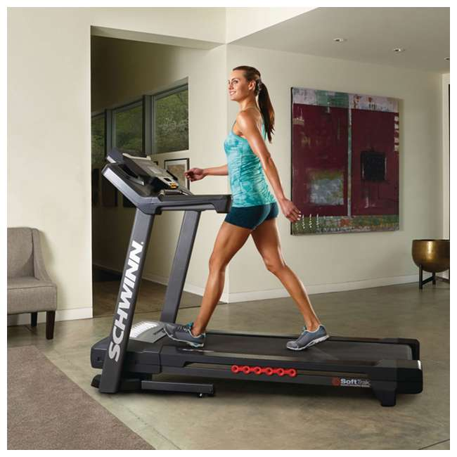 SCHWINN-100519-OB Scwhwinn Fitness 870 Home Workout Treadmill (Open Box) 4