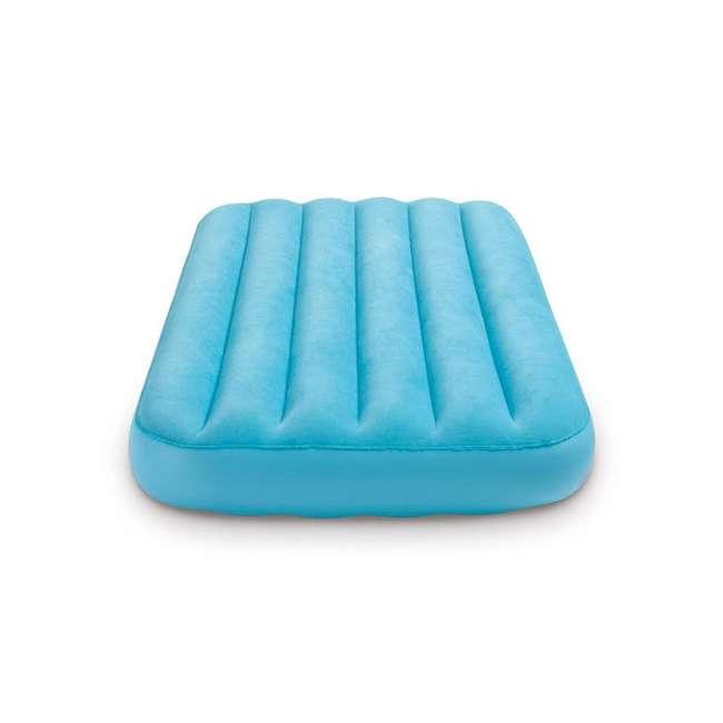 66641E + 66803EP Intex 120V Cordless Electric Air Pump Intex Kidz Inflatable Air Mattress w/ Bag