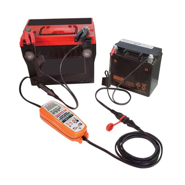TM-500-U-B TecMate 4.3 Polar Year Round Battery Charger for 12V Lead Acid Battery (Used) 3