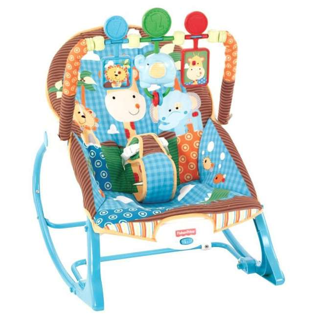 Fisher Price Infant To Toddler Rocker Baby Seat Bouncer W