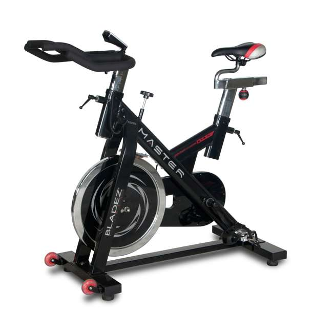 MASTER GS Bladez Master GS LED Console Adjustable Seat Racing Design Stationary Bike