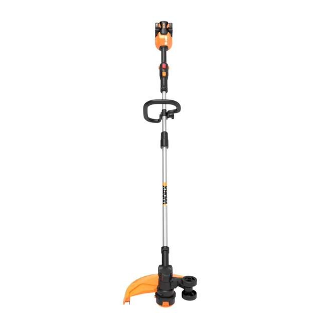 "WG184 WORX WG184 13"" 40V Lithium-Ion Cordless String Trimmer with Batteries & Charger 6"