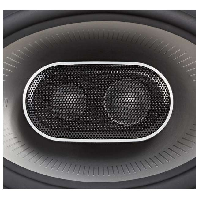 MM692 Polk Audio MM1 Series 6x9 Inch 450W Coaxial Marine Boat ATV Car Audio Speakers 1