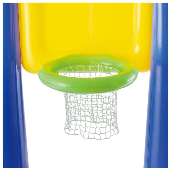 KF0062000167 Big Play Sports Jumbo Inflatable Pool Basketball Hoop Set 4