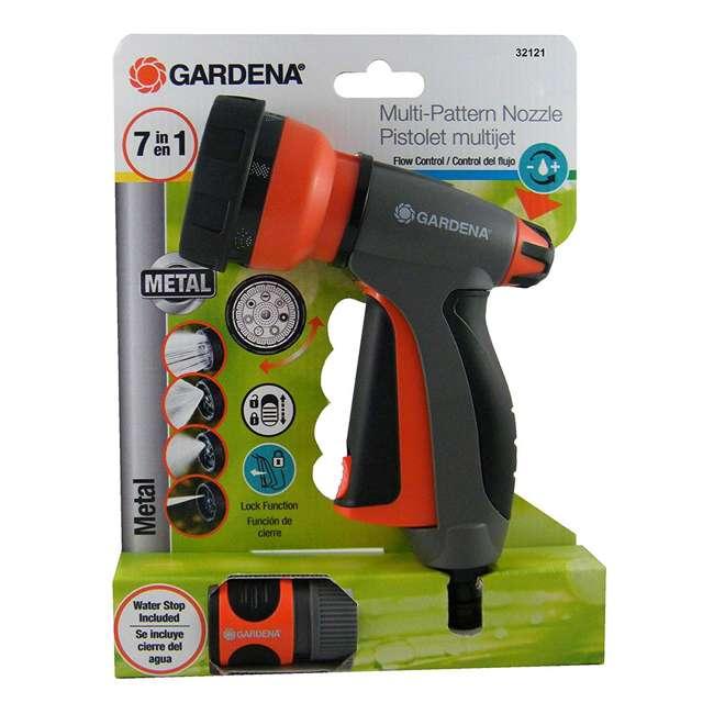 GARD-32121 Gardena 7-in-1 Water Hose Spray Gun with Flow Control 1