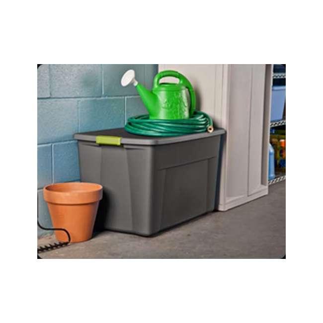 4 x 19453V04-U-A Set of 4) Sterilite 19451004 35 Gallon Storage Tote Box Latching Lid (Open Box) 2