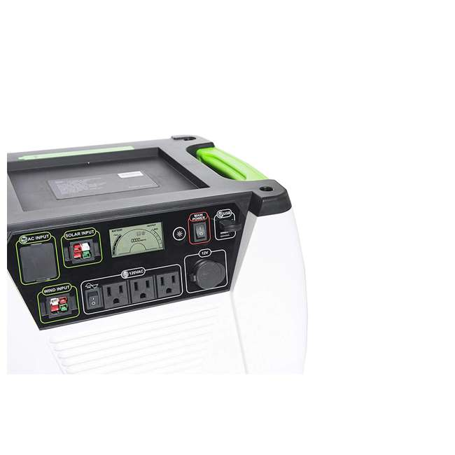 GXNGAU Nature's Generator GXNGAU Gold System Portable Generator with Solar Power Panel 2
