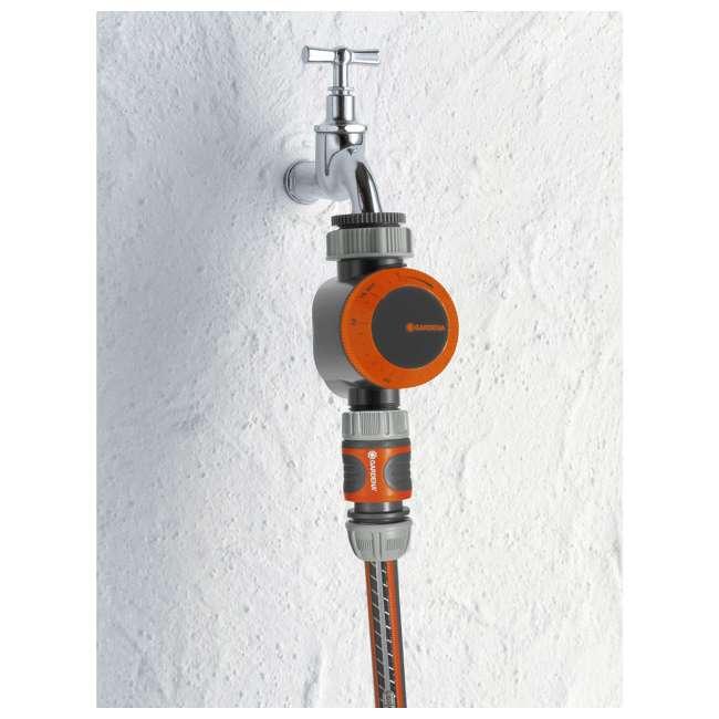 GARD-31169 Gardena Mechanical Water Timer with Flow Control 1