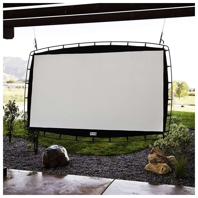 CC_OS115 Camp Chef 115-Inch Giant Outdoor Nylon Movie Projector Screen (2 Pack) 2