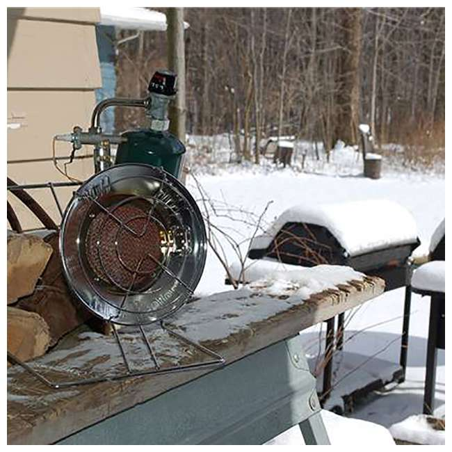 MH-F242300-U-C Mr. Heater 15,000 BTU Propane Gas Tank Top Outdoor Heater and Cooker (For Parts) 2