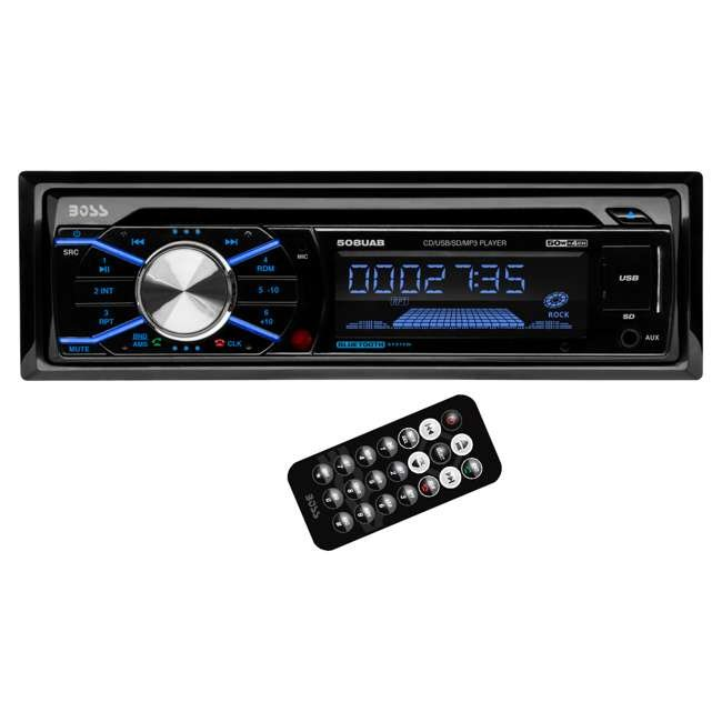 508UAB Boss 508UAB in Dash CD Player USB MP3 with Bluetooth