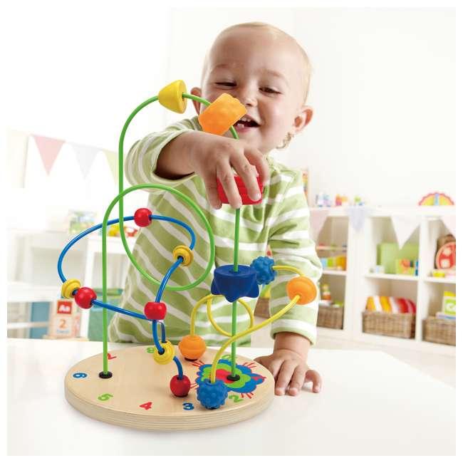 HAP-E1806 Hape Children's Countdown Activity Wooden Bead Maze Toy 2