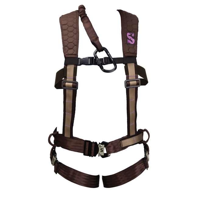 83084-WOMENS-PRO-MED/LRG-U-A Summit Women's Pro Safety Harness, Medium 1