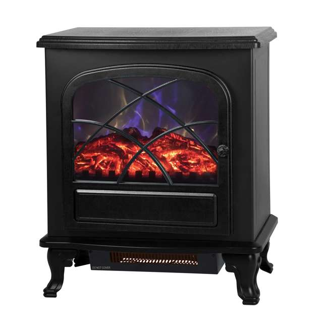 YH-17-11 Lifesmart YH-17-11 Traditional Infrared Quartz Medium Size Room Heater w/ Remote