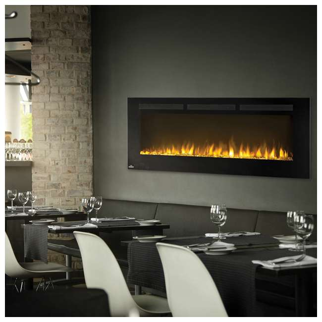 NEFL50FH-OB Napoleon Allure 50-Inch 5000 BTU Wall Hanging Electric Fireplace (Open Box) 2