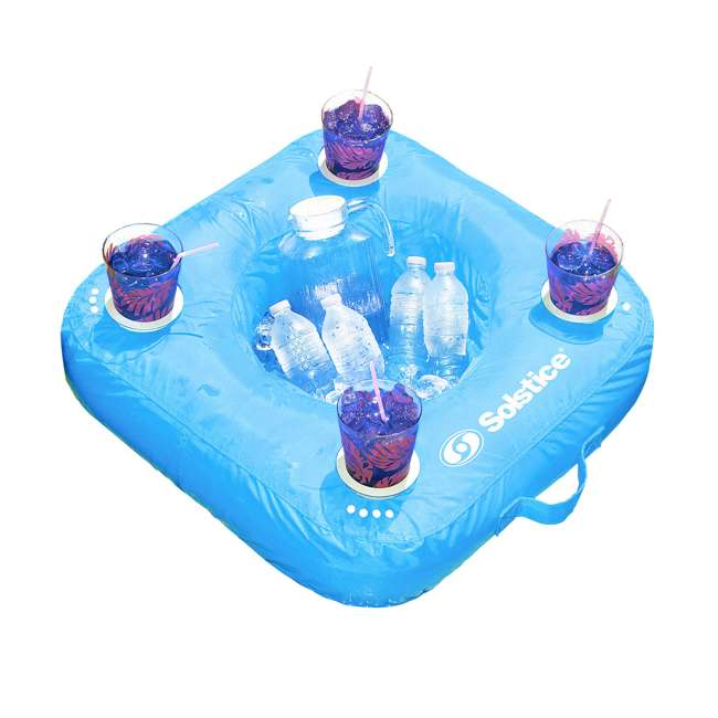 15050B Swimline Sunsoft Drink Caddy, Blue