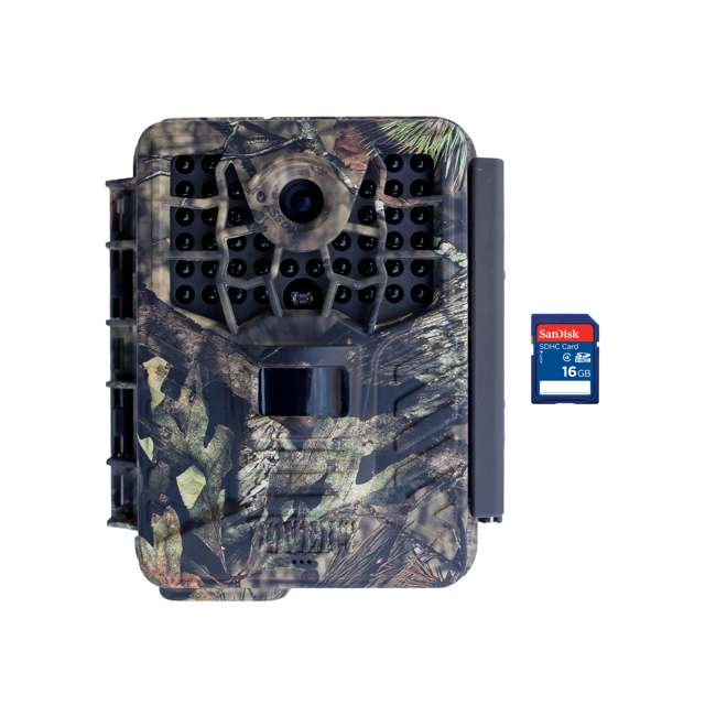 COVERT-5342 + SD4-16GB-SAN Covert Black Maverick Game Hunting Camera + 16GB SD Card