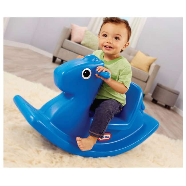 620171MP Little Tikes Outdoor & Indoor Balance Rocking Horse for Toddlers 2