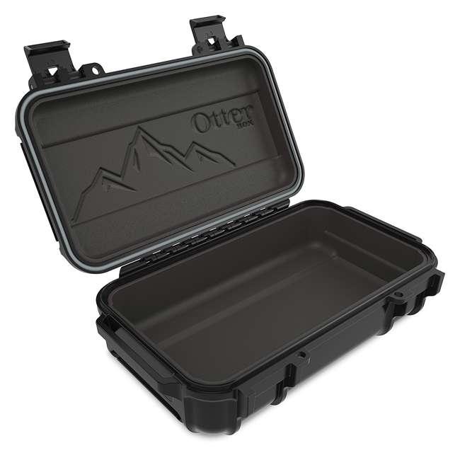 77-54442 OtterBox 3250 Series 0.9 Liter Small Lockable Waterproof Storage Drybox, Black 5