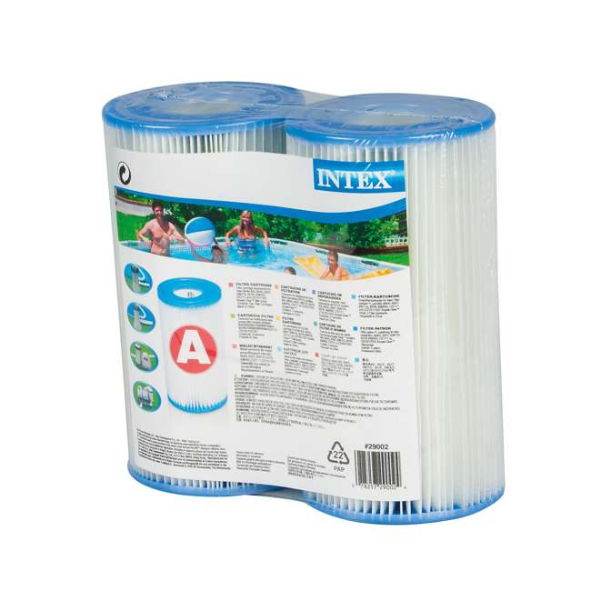 6 x 29002E Intex Easy Set Pool Type A or C Filter Cartridges Twin Pack (6 Pack) 2