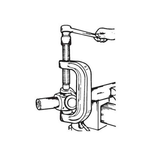 7248 OTC Tools 7248 C-Frame Press U-Joint Brake Anchor Pin Ball Joint Install Tool 3
