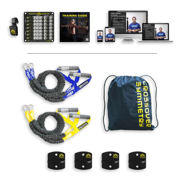 IEA2 Crossover Symmetry Individual Exercise Package with Anchor Attachments, Elite