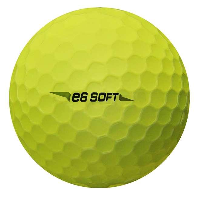6SYX6D Bridgestone e6 Soft Yellow Golf Balls, 2 Dozen 3