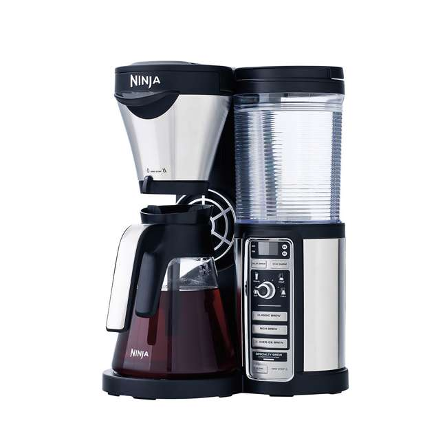 CF080QREF_EGB-RB + CBCF090 + 2 x CF14HOMEW Ninja Coffee Bar w/ Cookbook & To-Go Cups (Certified Refurbished) 6
