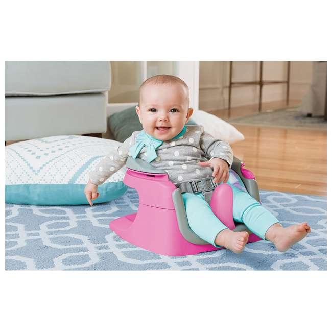 13595 Summer Infant Deluxe 4 In 1 Baby Floor Booster SuperSeat Activity Chair, Pink 5